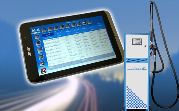 Solution et logiciel de gestion de carburant par tablette